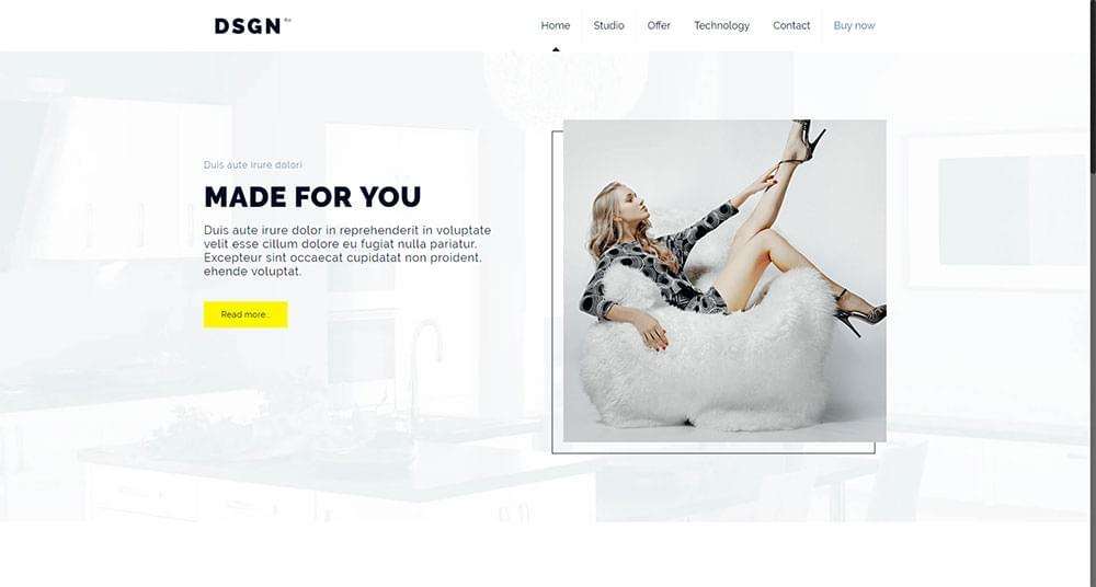 Be Theme - Design2