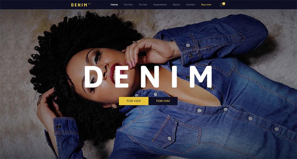 Be Theme - Denim