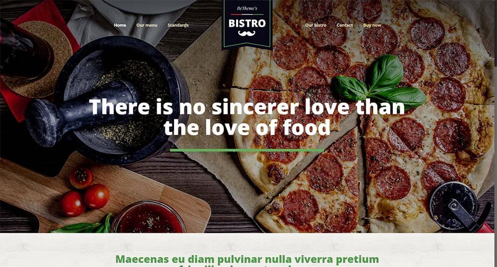 Be Theme - Bistro