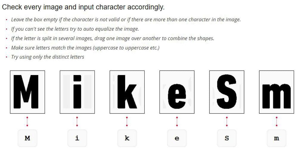 WhatFontIs - Uploading sample font