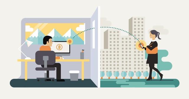 How the Blockchain Transfers Value