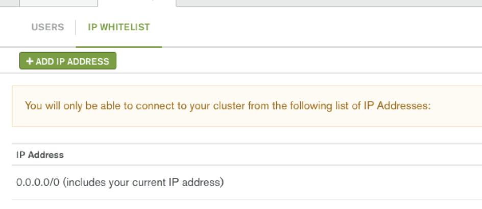 Parse Server MongoDB Atlas