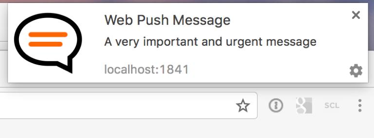 Web Push Message
