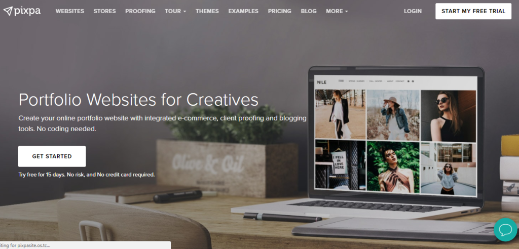 Pixpa – Portfolio Websites for Creatives