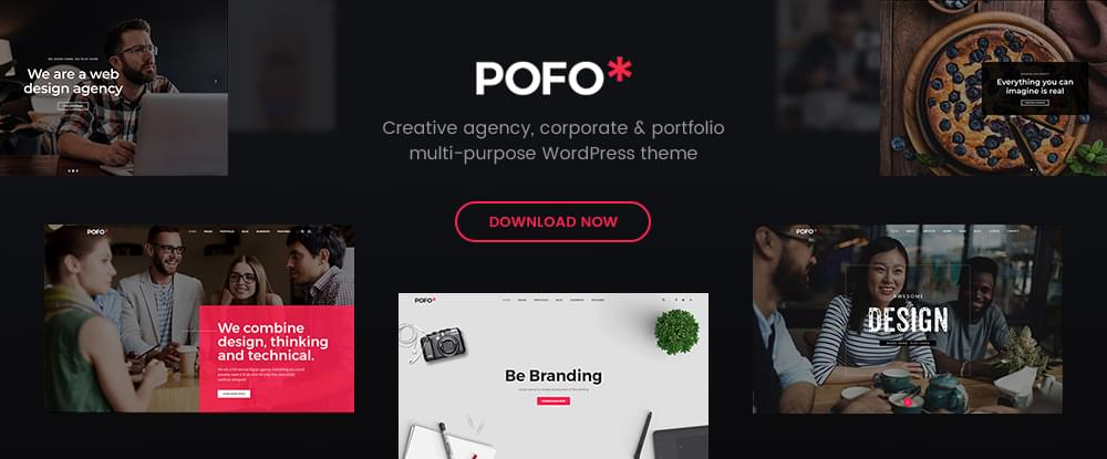 Pofo — the Best Portfolio, Blog & eCommerce WordPress Theme