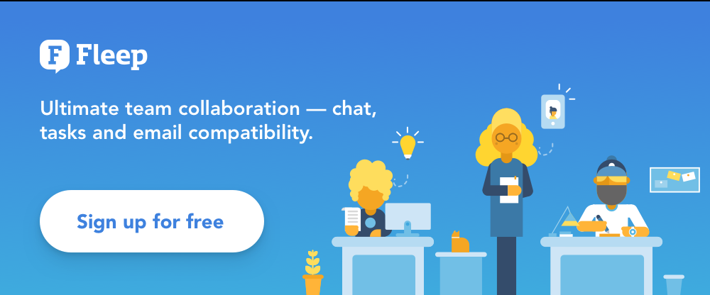 Fleep — Collaboration Software