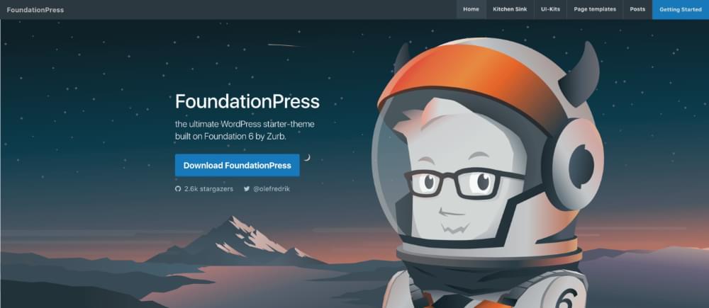 Le site web de FoundationPress