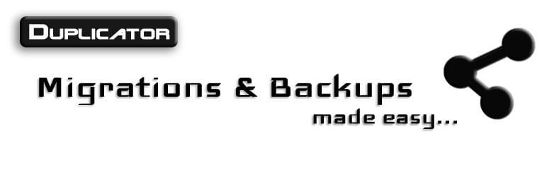 Duplicator WordPress remote backup