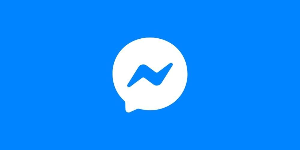The Facebook Messenger logo