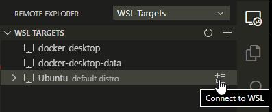 VS Code Remote Explorer