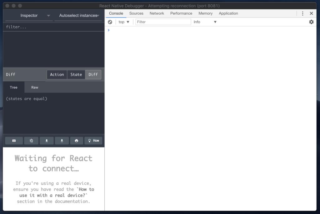 react native debugger app