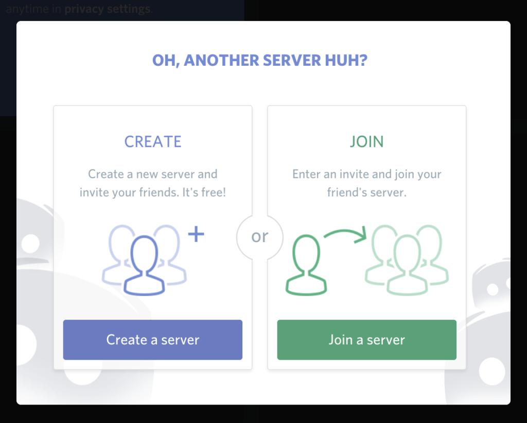 select create server