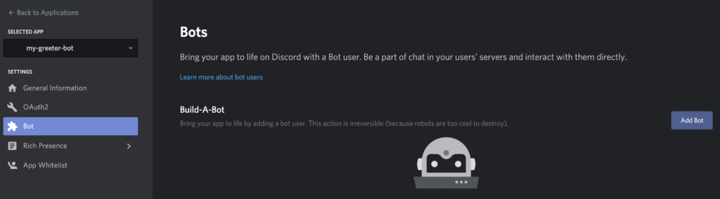 add bot