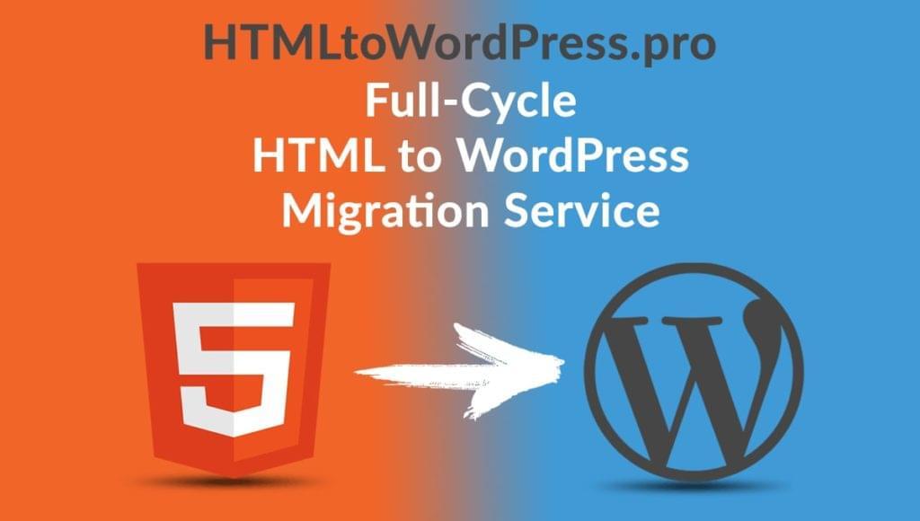 htmltowordpress pro