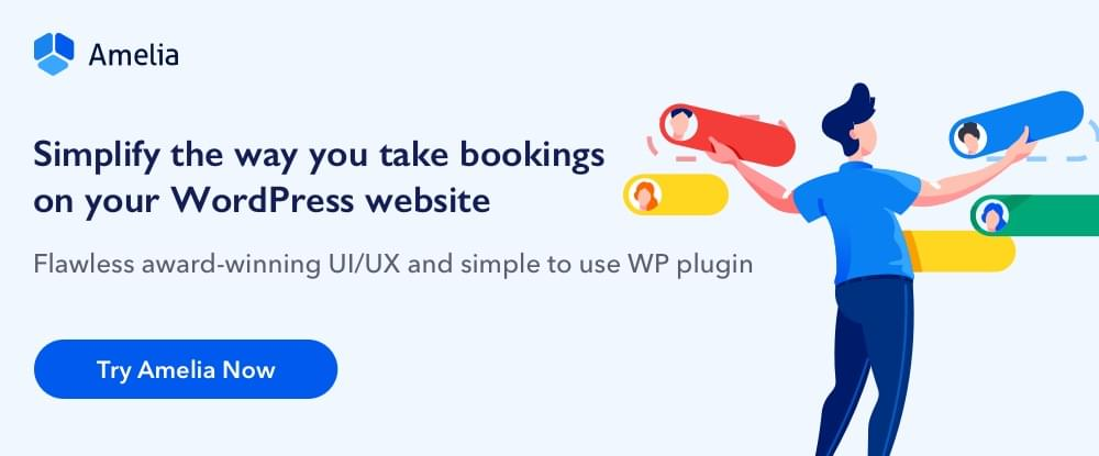 Amelia WordPress Booking Plugin
