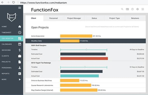 FunctionFox site