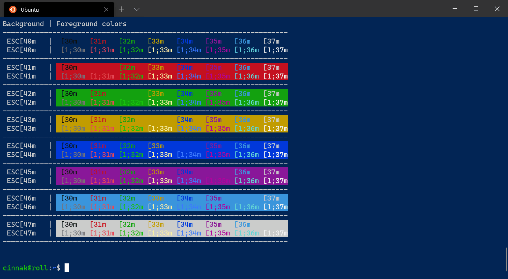 Campbell PowerShell color scheme