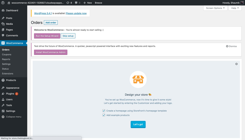WooCommerce Configuration WordPress