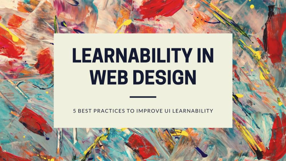 Learnability in web design