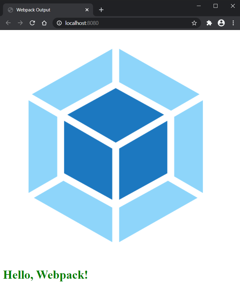 Webpack Development Server In Action