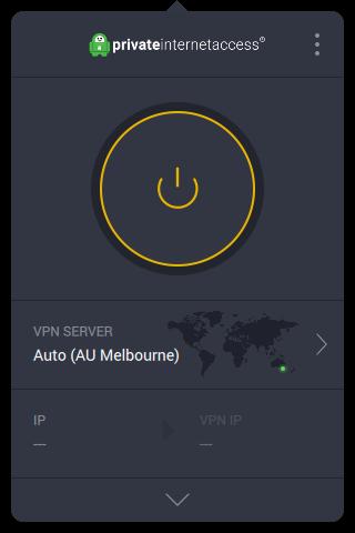 Screenshot of PIA