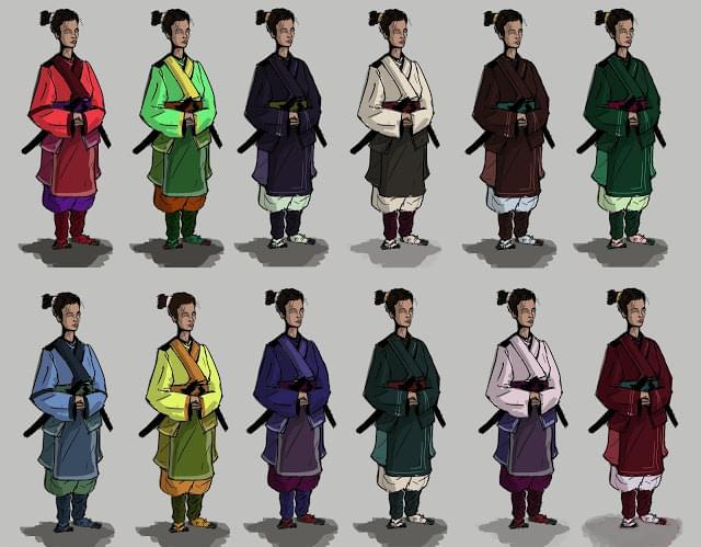 12 samurai