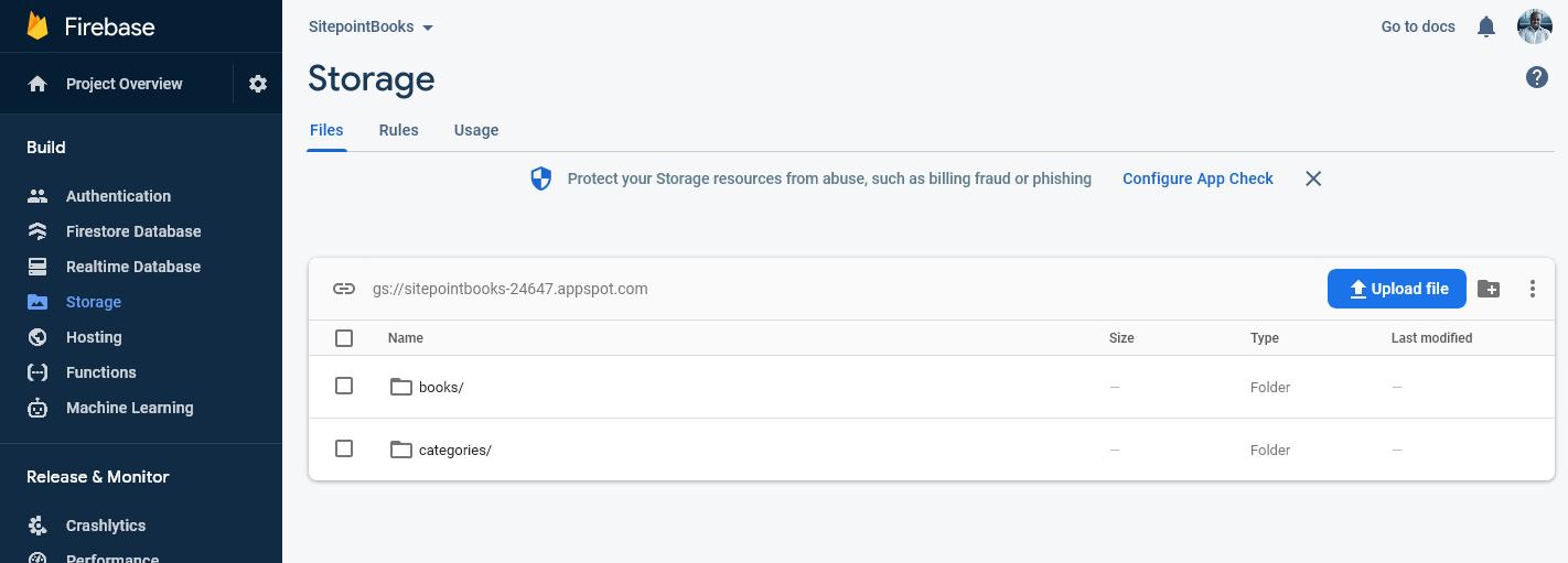 firebase cloud storage