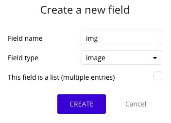 Crear campo de imagen en Bubble