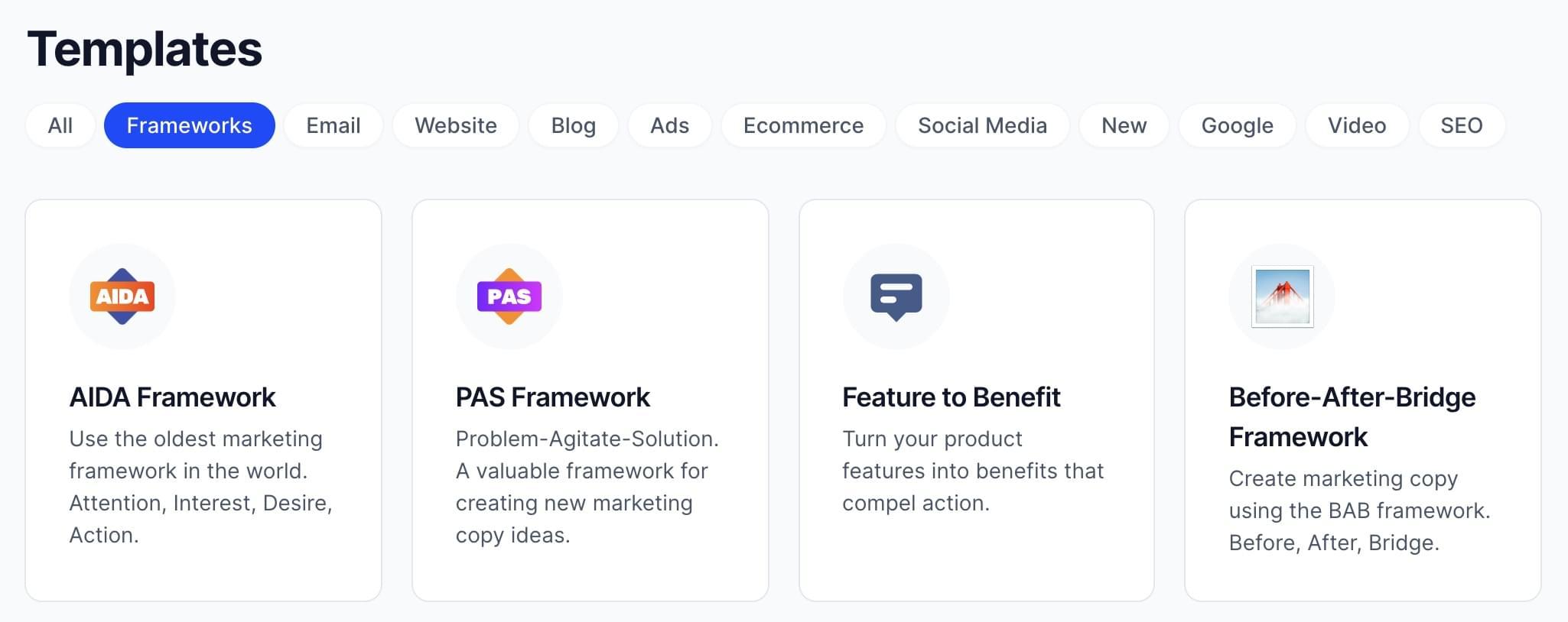 Jarvis AI-powered marketing automation templates