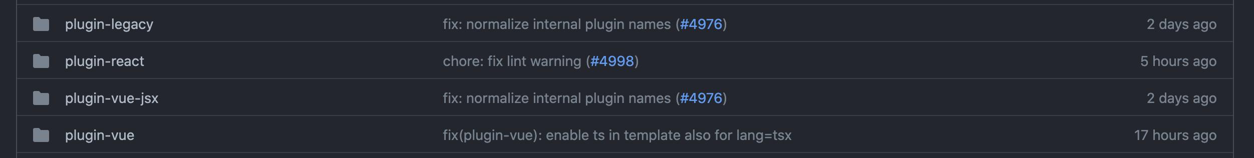 Various plugins