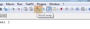 notepadplus-word-wrap