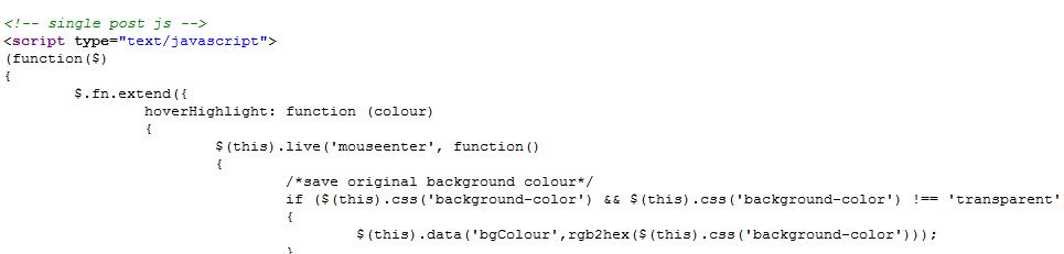 wordpress-putting-code-working