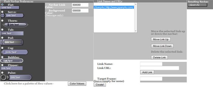 Free Flash Button Generator