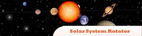 jQuery Solar System Rotator