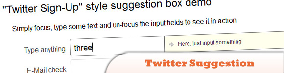 Twitter Suggestion