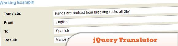 jQuery Translator