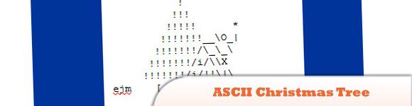 Create ASCII Christmas Tree Animation Using JavaScript