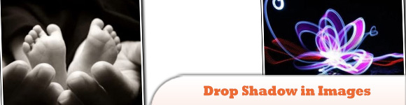 Drop Shadow in Images: No extra markup