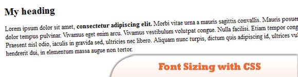 Guide to Font Sizing with CSS