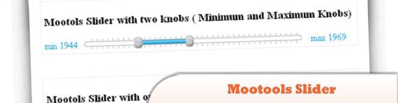 Mootools Slider