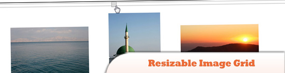 Resizable Image Grid