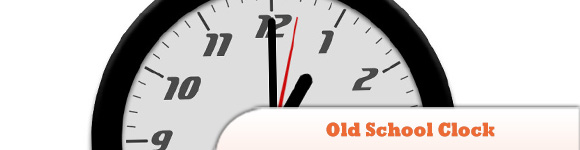 Old School Clock