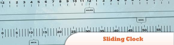 jQuery Sliding Clock