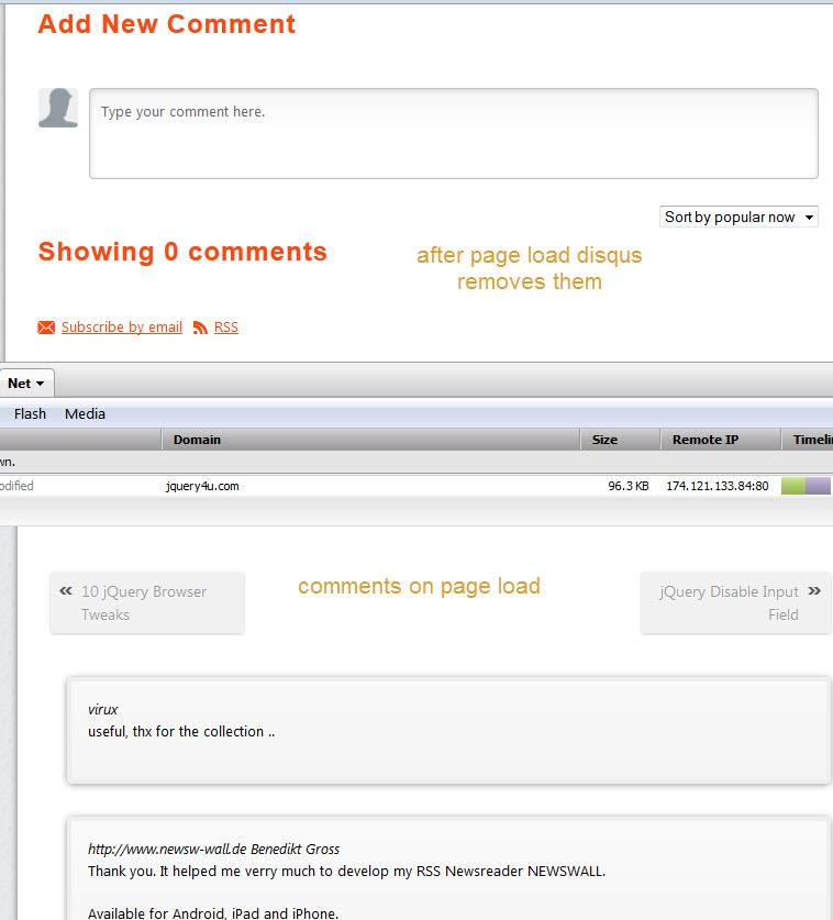 disqus removing comments
