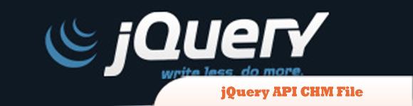 jQuery API CHM File