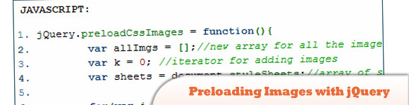 Preloading Images with jQuery
