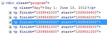 program-times