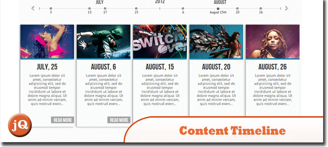 Content Timeline