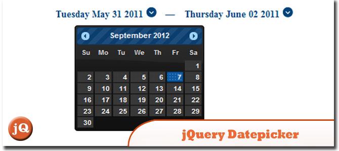 jQuery DatePicker