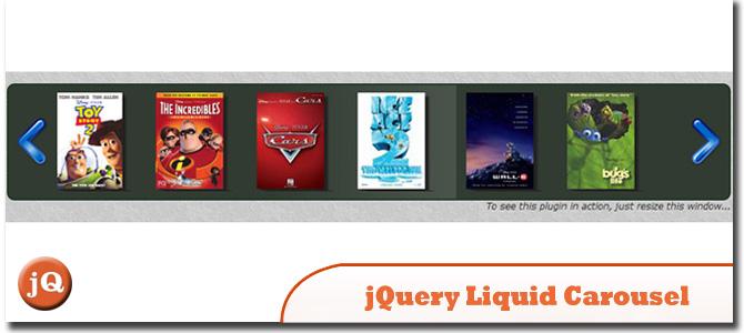 jQuery Liquid Carousel